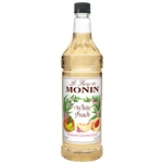Monin White Peach Syrup - 1 Liter