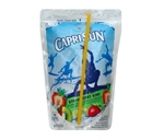 Capri Sun Strawberry Kiwi Beverage - 6 Oz. Pouch