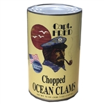 Seawatch Captain Fred Chopped Ocean Clams 51 Oz.