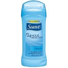 Antiperspirant Suave Invisible Solid Fresh - 2.6 Oz.
