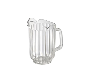 Winco Three Spouts Pitcher Clear - 60 Oz.