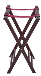 Winco Mahagony Wood Tray Stand - 32 in.
