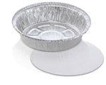 Handi Foil Round Pan With Lids - 7 in.