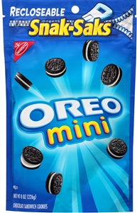 Kraft Nabisco Oreo Mini Chocolate Sandwich Snack Stak - 8 Oz.
