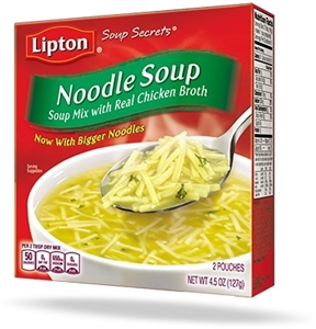 Lipton Chicken and Noodles Soup Mix - 4.5 Oz.