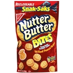 Kraft Nabisco Nutter Butter Bites Snack Saks - 8 Oz.