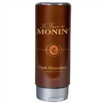 Monin Dark Chocolate Sauce - 12 Oz.