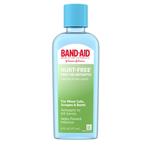 Band-Aid Hurt Free Antiseptic - 6 Fl. Oz.