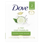 Dove Bar Soap Go Fresh Cool Moisture - 4.25 Oz.