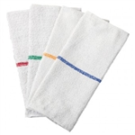 Striped Bar Blue Towel - 16 in. x 19 in.