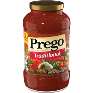 Campbell's Spaghetti Traditional Prego Sauce 24Oz.