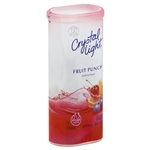 Crystal Light Powdered Soft Drink Fruit Punch - 2.04 Oz.
