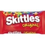 Wrigleys Original Skittles Bite Size Laydown Candy Bag