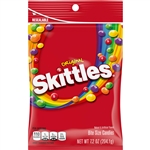 Wrigleys Skittles Bite Size Original Candy Peg Pack - 7.2 Oz.