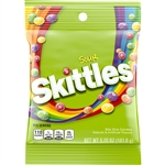 Wrigleys Skittles Bite Size Sour Candy Peg Pack - 5.7 oz