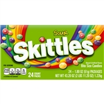 Wrigleys Skittles Single Bite Size Sour Candy