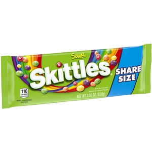 Wrigleys Skittles Tear Bite Size Sour Share Candy