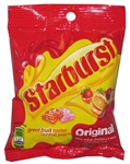 Wrigleys Starburst Original Fruit Candy Peg Pack - 7.2 Oz.