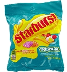 Wrigleys Starburst Tropical Fruit Candy Peg Pack - 7.2 Oz.