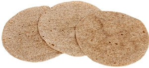 Heat Pressed Whole Wheat Tortilla - 8 in.