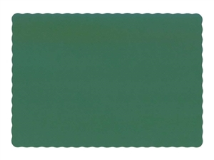 Hoffmaster Placemat Hunter Green