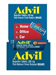 Pfizer Advil 10S Loose Pain Reliever Tablets 144 Boxes of 10 Tablets