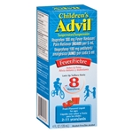 Advil Childrens Suspension Liquid Fruit Flavor - 4 Fl. Oz.
