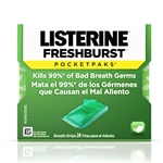 Johnson and Johnson Listerine Freshburst Pocketpak Front End