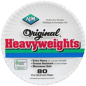 Heavyweight Original Paper Plate