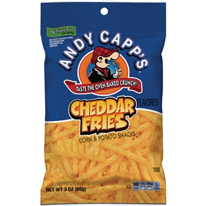 Andy Capp Cheddar Fries - 3 Oz.