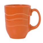 Cantina Carved Mug Cayenne - 11 Oz.