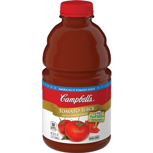 Campbell's Plastic Tomato Pet Juice 32 Oz.
