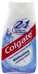 Colgate Palmolive Two In One Whitening Toothpaste - 4.6 Oz.