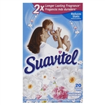 Suavitel Field Flower Dryer Sheets