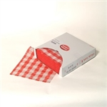 Sandwich Red Gingham Wrap