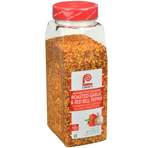 Mccormick Lawrys Roasted Garlic And Red Bell Pepper