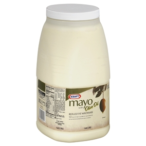 Mayonnaise With Olive Oil One Gallon - 128 Oz.