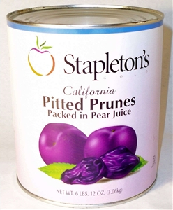 Stapleton-Spence Pitted Prune in Pear Juice 3 Cans