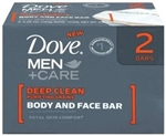 Dove Deep Clean Mens Bar Soap - 4.25 oz.
