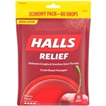 Halls Cherry Eco Bag - 302.4 Gram
