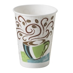 Dixie Perfect Touch Insulated Paper Hot Cups - 8 Oz.