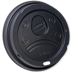 Dixie Dome Paper Hot Cup Lid Fits Black - 20 and 24 Oz.