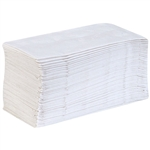 Preference 2-Ply 1/8 Fold Paper Dinner Napkins White - 16 in. x 15 in.