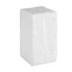 Luncheon 1-Ply Napkin White - 6.25 in. x 5.75 in.