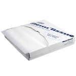White No Wax Menu Tissue - 12 in. x 12 in.