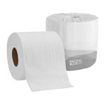 Embossed  2 Ply Bath Tissue White