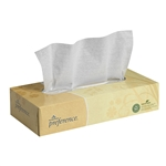 Preference Facial Tissue Flat Box White