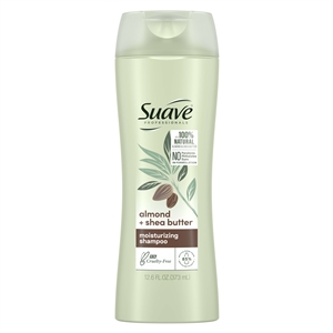 Suave Shampoo Almond and Shea Butter - 12.6 Fl.Oz.