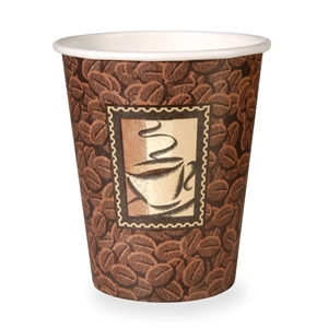 Dixie Paper Hot Cup Java - 10 Oz.