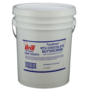 Icing Transmart Trans Fat Free Chocolate Buttercreme - 35 Pound